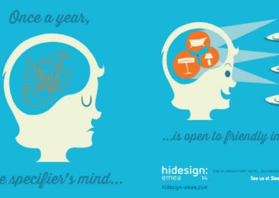 Advert for HI Design