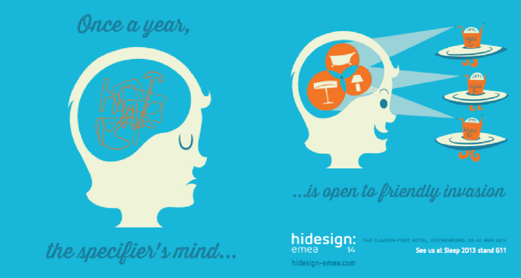hi design advert