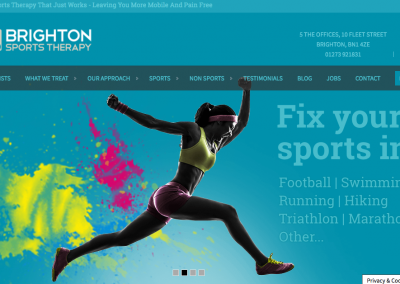 Website Copy for Brighton Sports Therapy