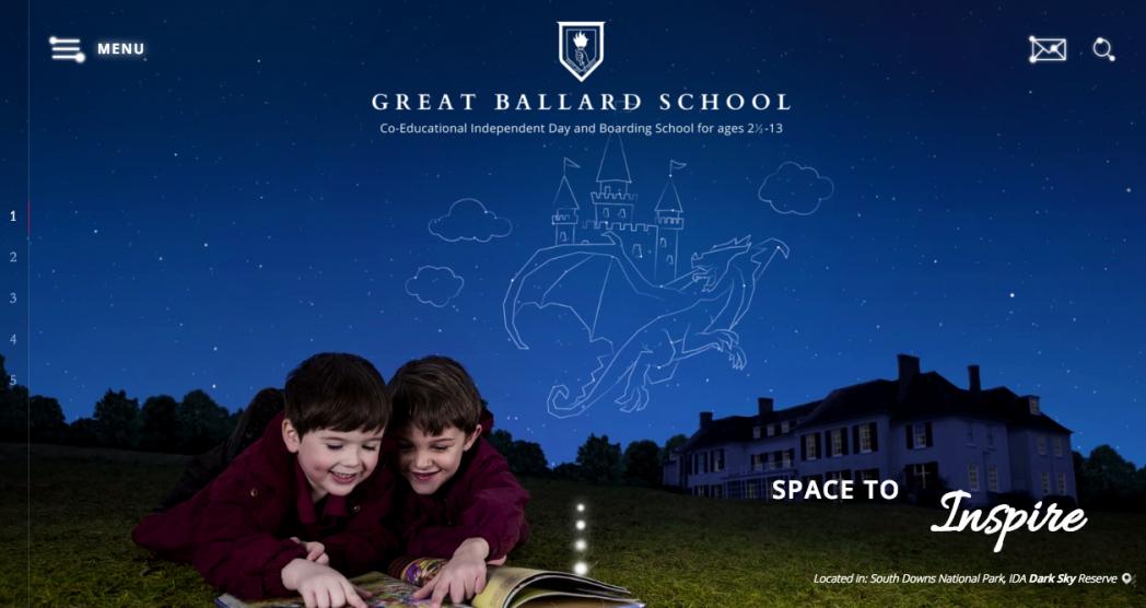 Website Copy for Great Ballard School