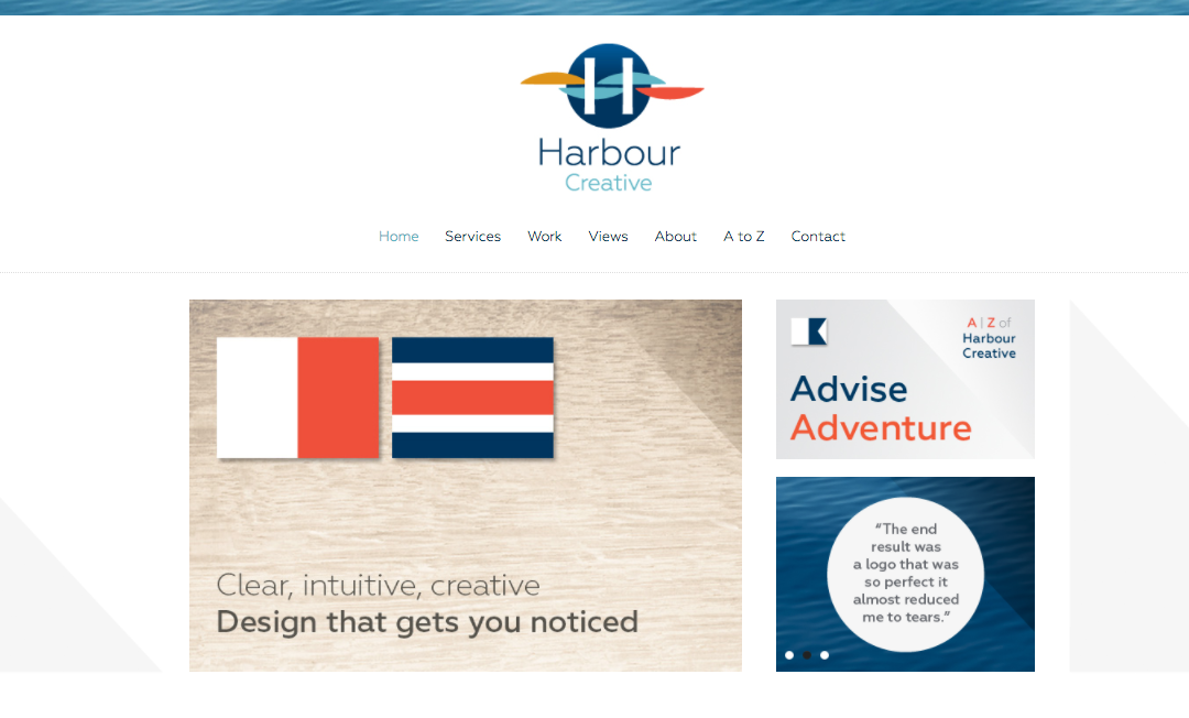 Website Copywriting for Harbour Creative