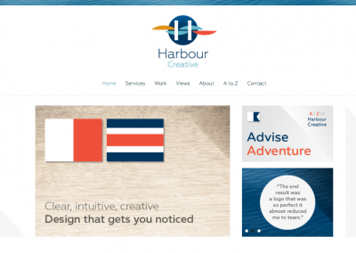 Website Copywriting for Harbour Creative