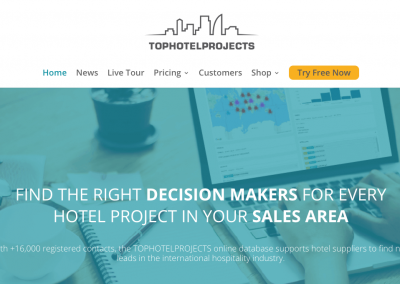 Website Copywriting for TOPHOTELPROJECTS