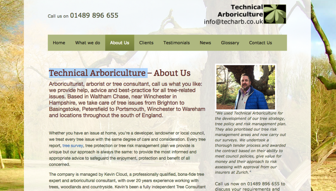 tech arb website