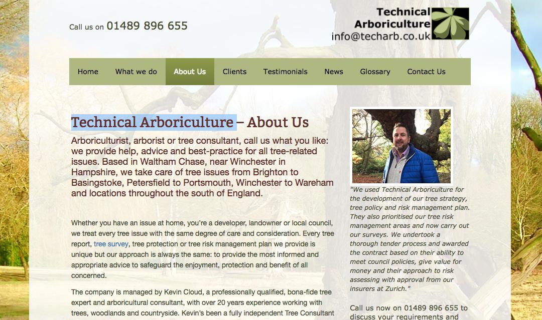 Technical Arboriculture