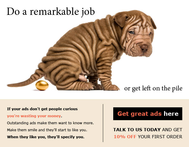 Advert Copywriting for Advertising Agency